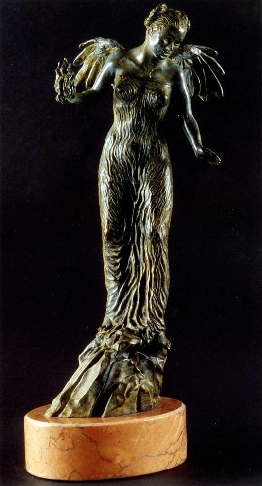 AURORA 2006, Bronzo, h 41 cm Collezione privata