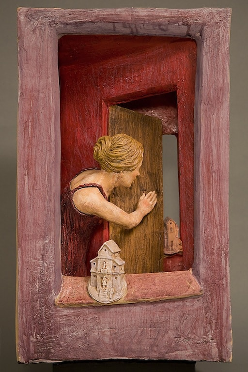 CASE DIMENTICATE 2011, Terracotta, h50 l31 p18 cm