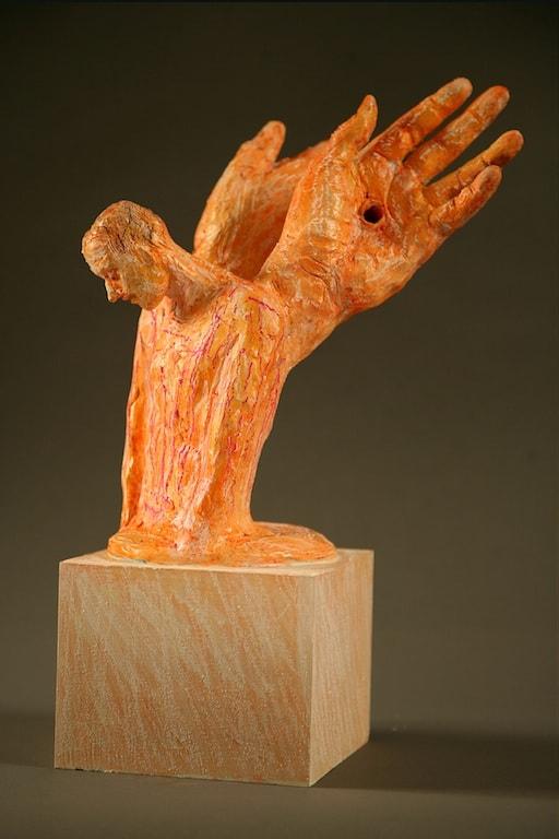 Nel Chiuso Silenzio, 2011, Terracotta, h 36 cm