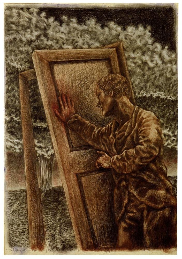 CIELI DISTANTI 2007, Disegno a matita, 1120x820 mm Proprietà dell'artista