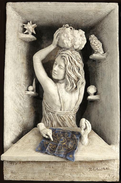 Dirà l'argilla la mano, la terra, il sacro Mostra di Paolo ANNIBALI