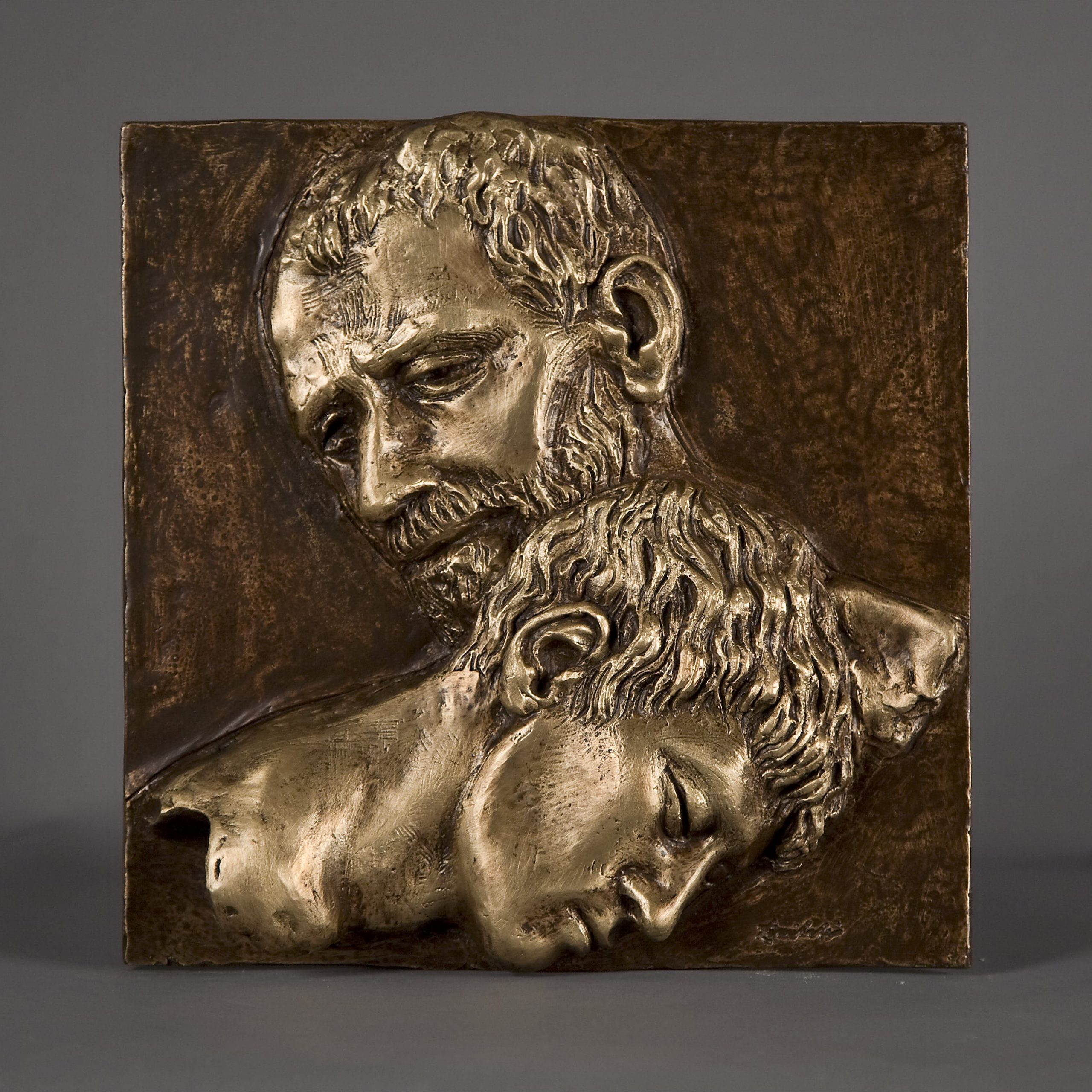 Il Figliol prodigo realizzato nel 2015 in bronzo