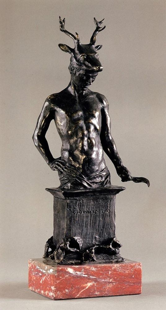 GIOVANE DIO 2006, Bronzo, h 44 cm Collezione privata