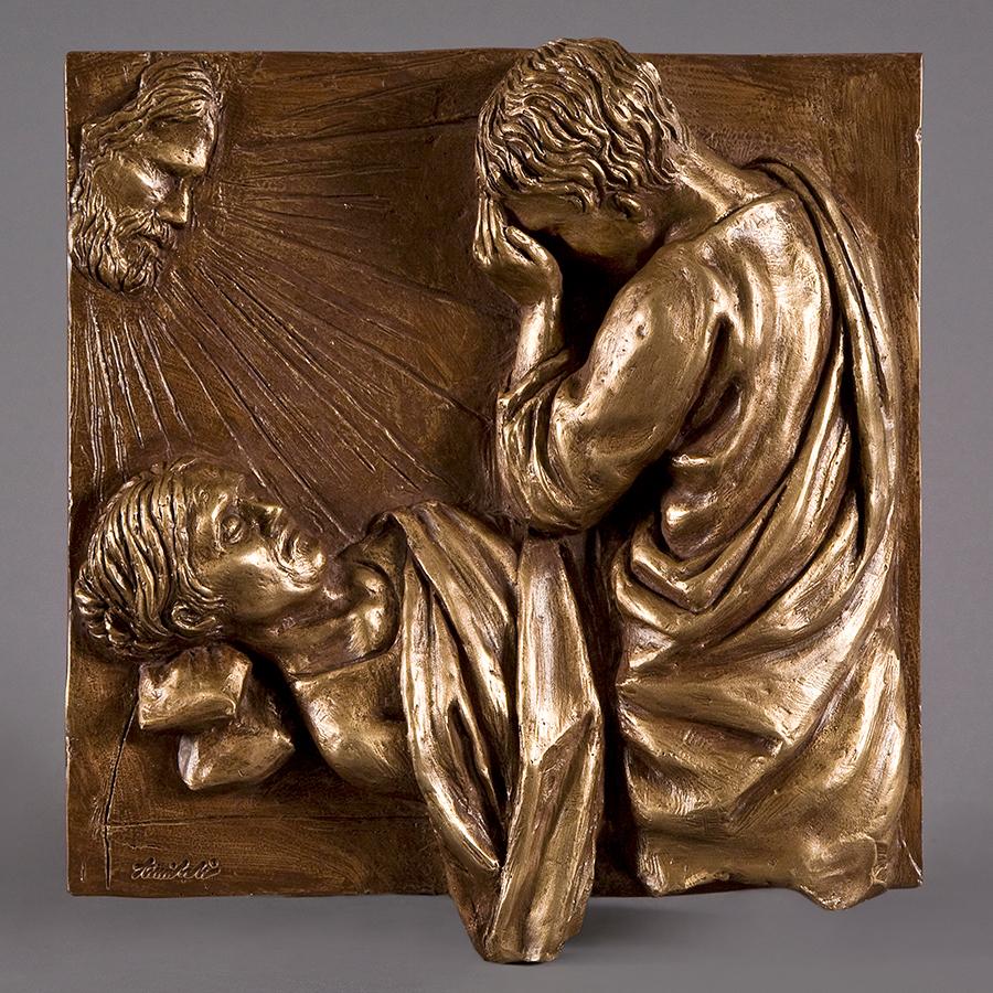 Morte della Vergine anno 2016 in bronzo