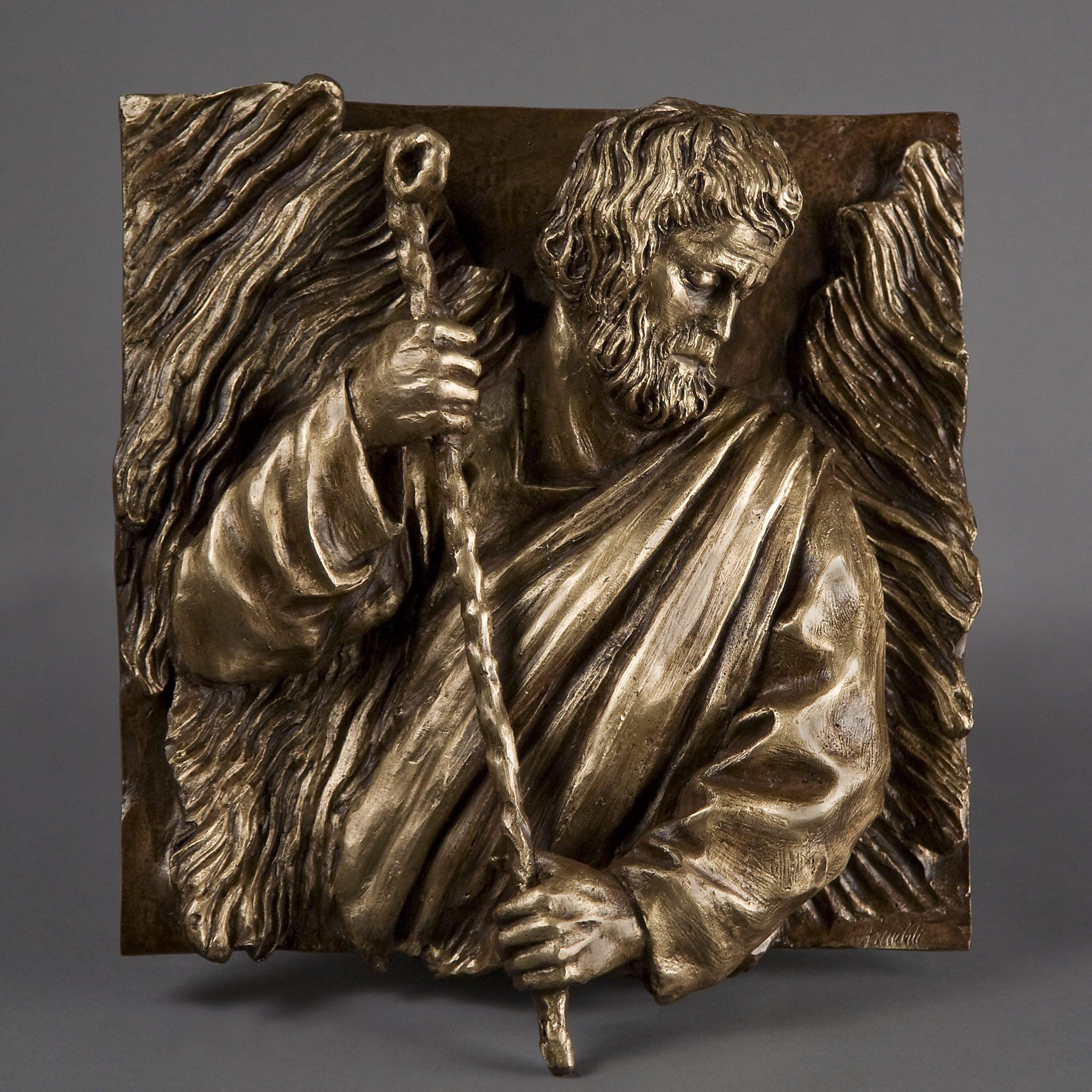 Mosé realizzato nel 2015 in bronzo