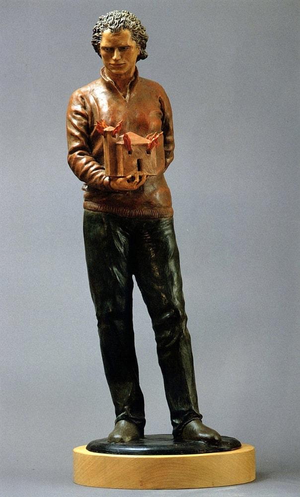 NOTTURNO 2005, Terracotta, h 70 cm Proprietà dell'artista