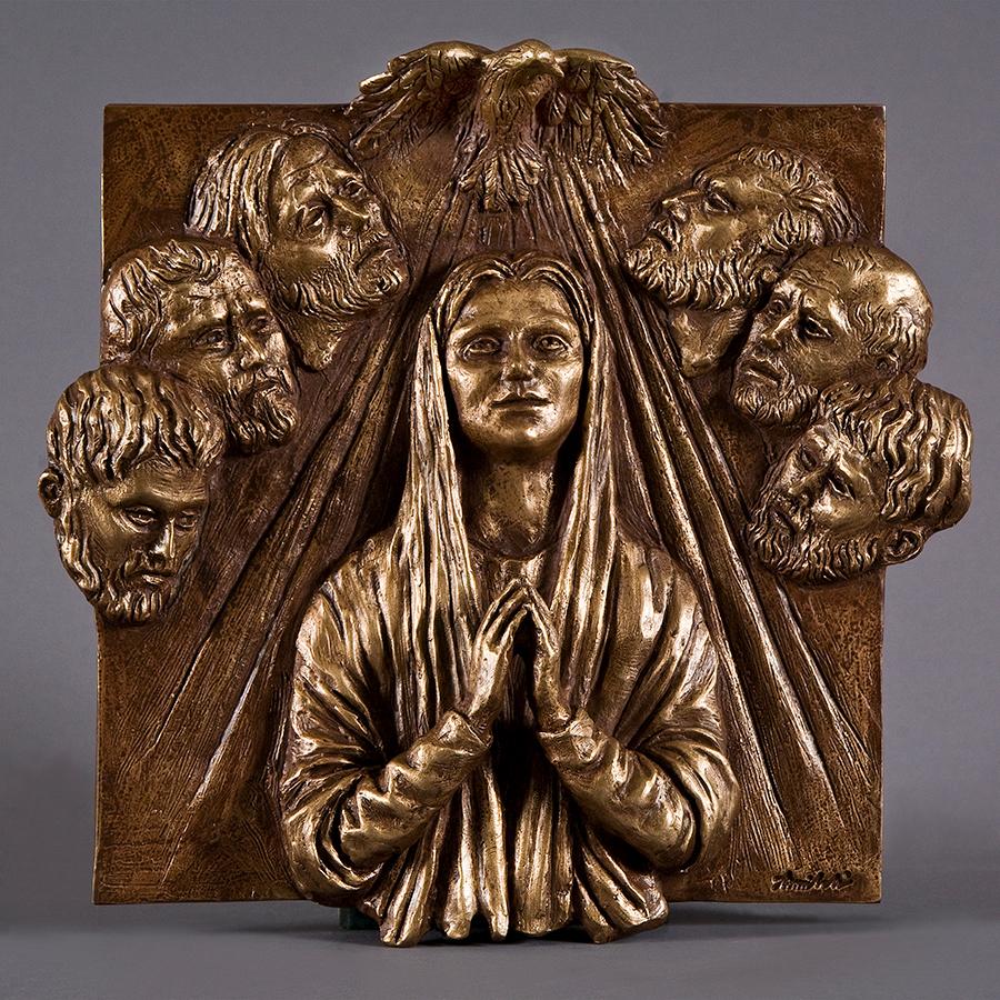Pentecoste anno 2016 in bronzo