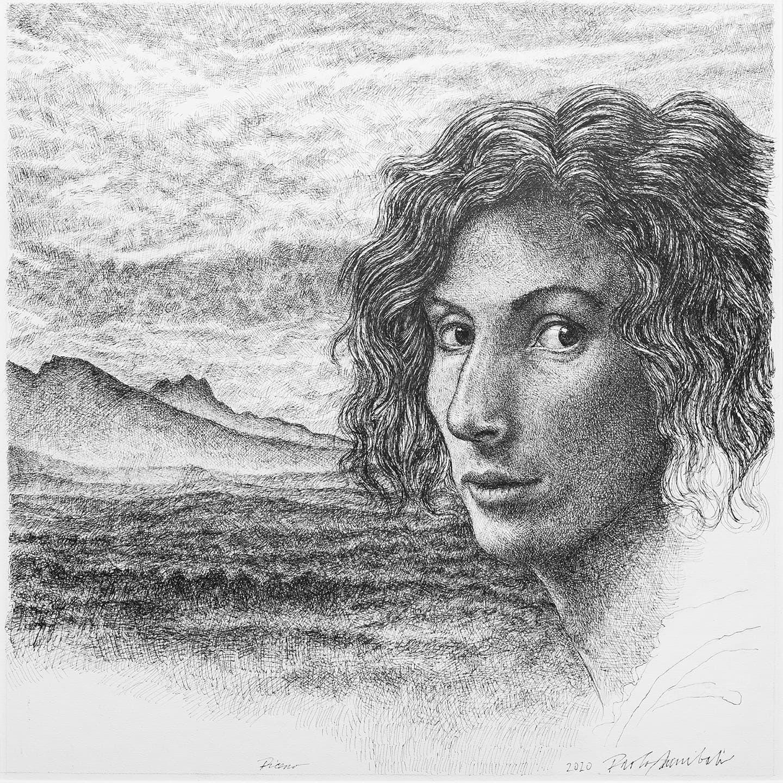 Piceno, 2020 - 35x35 cm