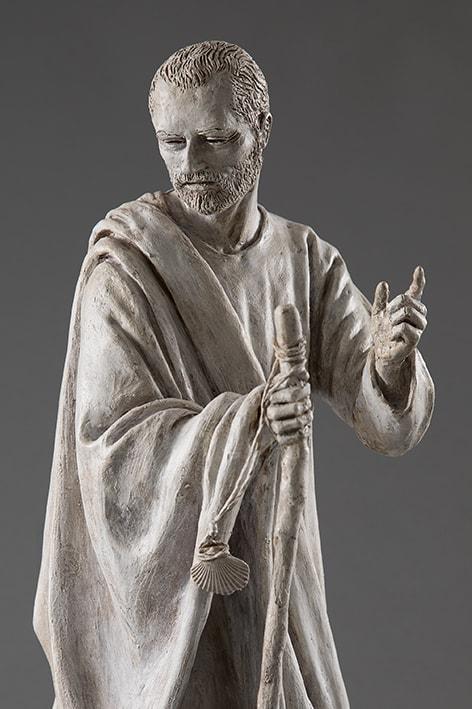 San Giacomo Maggiore 2018-2019; terracotta dipinta; h cm 60