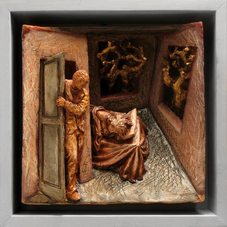 SENZA TITOLO 2008, Terracotta, 32x32 cm Proprietà dell'artista