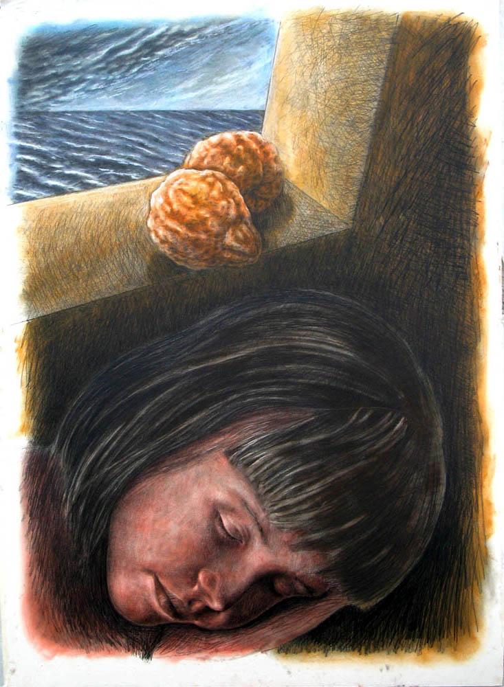 SENZA TITOLO 2010, Disegno a matita, 840x1112 mm Proprietà dell'artista