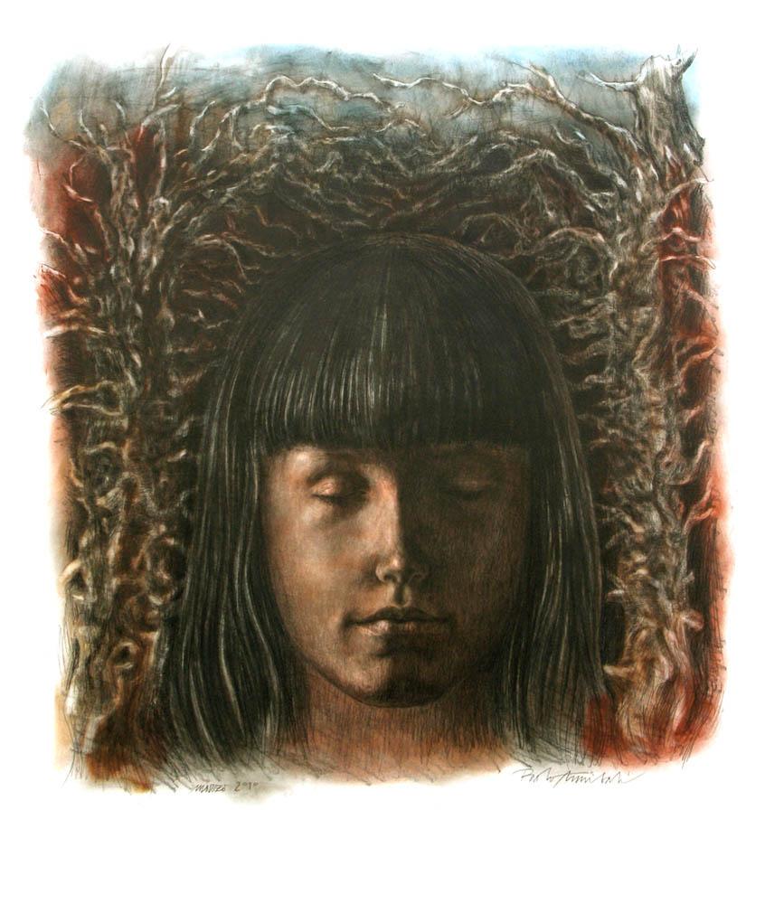 SENZA TITOLO 2010, Disegno a matita, 840x1000 mm Proprietà dell'artista