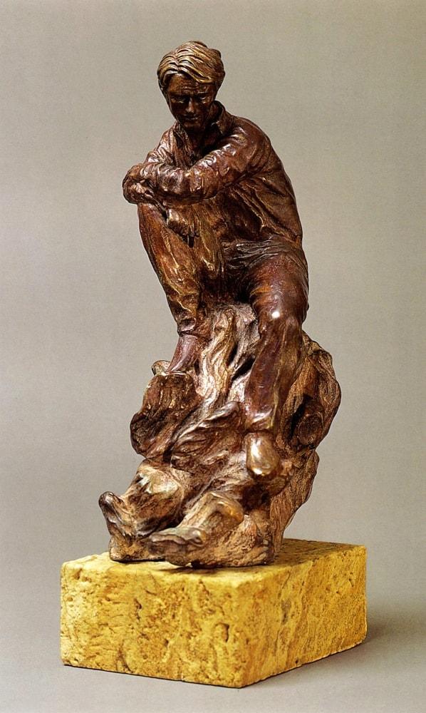 LO SGUARDO DELL'ALTO 2007, Bronzo, h 37 cm Collezione privata