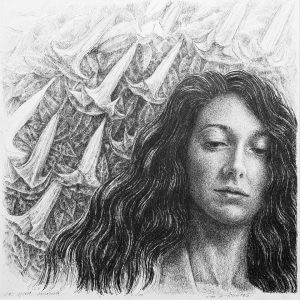 La sposa smarrita, 2018 - 35x35 cm