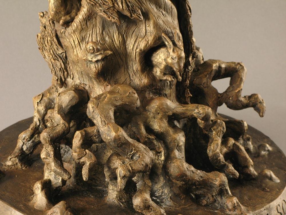 I SOGNATORI - BOZZETTO 2009-2010, Bronzo, Bozzetto h 830 mm Monumento 4000x2000 mm Proprietà dell'artista